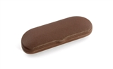 Exquisite Fashion glasses case  806 Brown