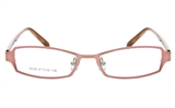 KALA 8058 Stainless Steel/ZYL Child Full Rim Square Optical Glasses
