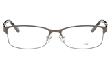EFASHION E1168 Stainless Steel/ZYL Unisex Full Rim Square Optical Glasses