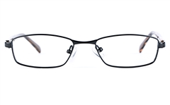 Vista Kids 5814 Stainless Steel/ZYL  Kids Square Full Rim Optical Glasses